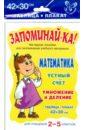 Математика. Устный счет. Умножение и деление. 2-5 классы clever тесты и задания нескучные уроки математики математика в стихах сложение вычитание умножение