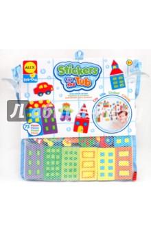Набор фигурок для ванны Город в удобной сетке (803W) alex игрушки для ванны 3 цветные лодочки