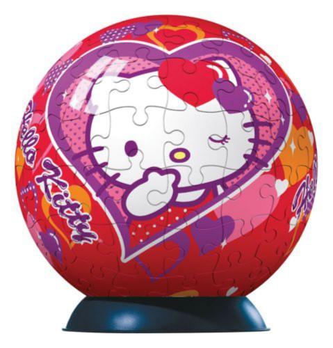"Иллюстрация 1 из 2 для Пазл-шар-96 ""Hello Kitty"" + подсветка (810246) | Лабиринт - игрушки. Источник: Лабиринт"