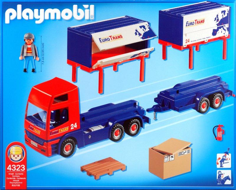 Иллюстрация 1 из 2 для Автофургон с прицепом (4323)   Лабиринт - игрушки. Источник: Лабиринт