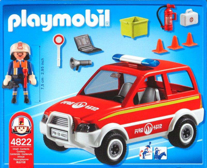 Иллюстрация 1 из 2 для Автомобиль директора пожарной службы (4822) | Лабиринт - игрушки. Источник: Лабиринт