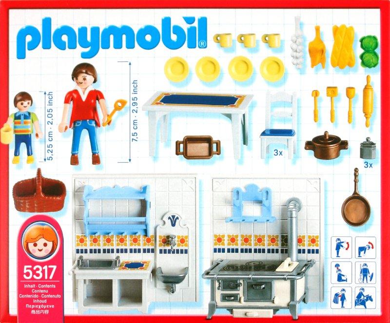 Иллюстрация 1 из 2 для Кукольная кухня (5317) | Лабиринт - игрушки. Источник: Лабиринт