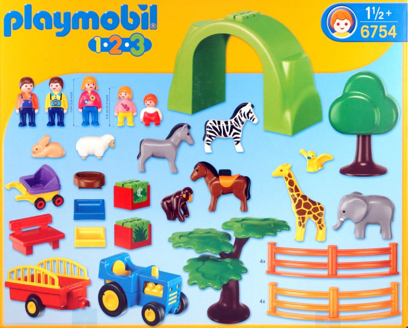 Иллюстрация 1 из 8 для Большой зоопарк (6754)   Лабиринт - игрушки. Источник: Лабиринт