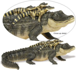 Иллюстрация 1 из 9 для Аллигатор с детенышами (259629) | Лабиринт - игрушки. Источник: Лабиринт