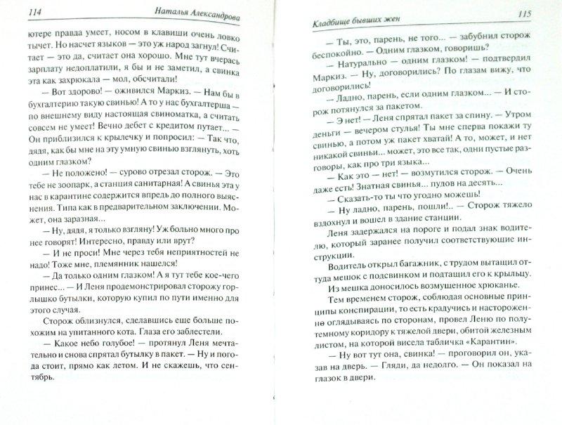 Иллюстрация 1 из 6 для Кладбище бывших жен - Наталья Александрова | Лабиринт - книги. Источник: Лабиринт