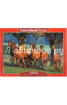 "Puzzle-1500. ""Лошади"" (C-150748) от Лабиринт"