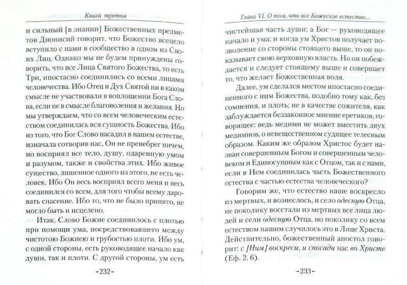 Иллюстрация 1 из 10 для Точное изложение Православной веры - Иоанн Дамаскин | Лабиринт - книги. Источник: Лабиринт