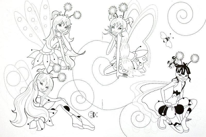 Иллюстрация 1 из 10 для WINGS. Раскраска. Крылатые подружки | Лабиринт - книги. Источник: Лабиринт