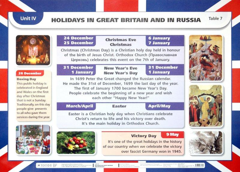 Иллюстрация 1 из 2 для Английский язык. 3-й год обучения. 7 класс. Unit IV: Holidays in Great Britain and Rus./Past simple - Елена Рубина   Лабиринт - книги. Источник: Лабиринт