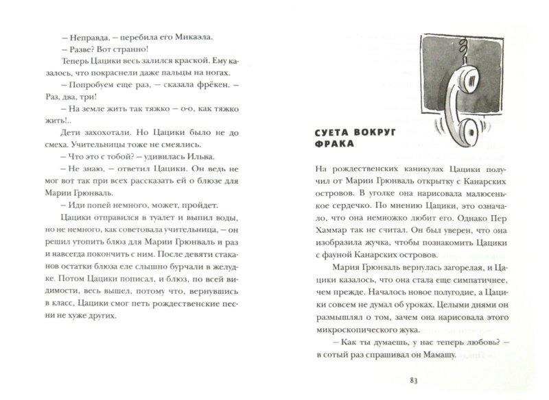 Иллюстрация 1 из 17 для Цацики идет в школу - Мони Нильсон   Лабиринт - книги. Источник: Лабиринт