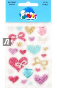 "Наклейки детские ""Сердца и бантики"" (JGS005) от Лабиринт"