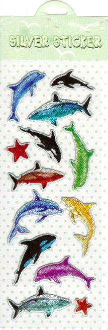 Иллюстрация 1 из 2 для Наклейки детские, в ассортименте (Silver made sticker) | Лабиринт - игрушки. Источник: Лабиринт