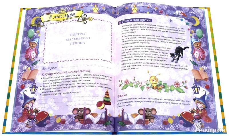 Иллюстрация 1 из 6 для Маленький принц. Дневник первого года жизни - Р. Данкова | Лабиринт - сувениры. Источник: Лабиринт