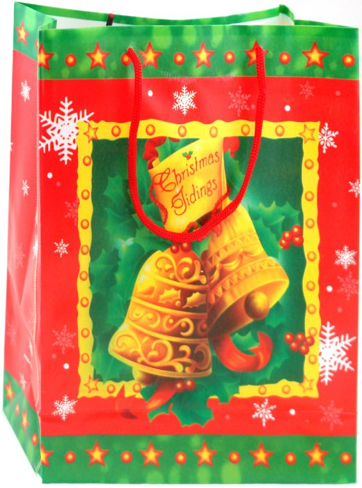 Иллюстрация 1 из 4 для Пакет новогодний пластиковый 24x18x7,5 (LY070715-5) | Лабиринт - сувениры. Источник: Лабиринт