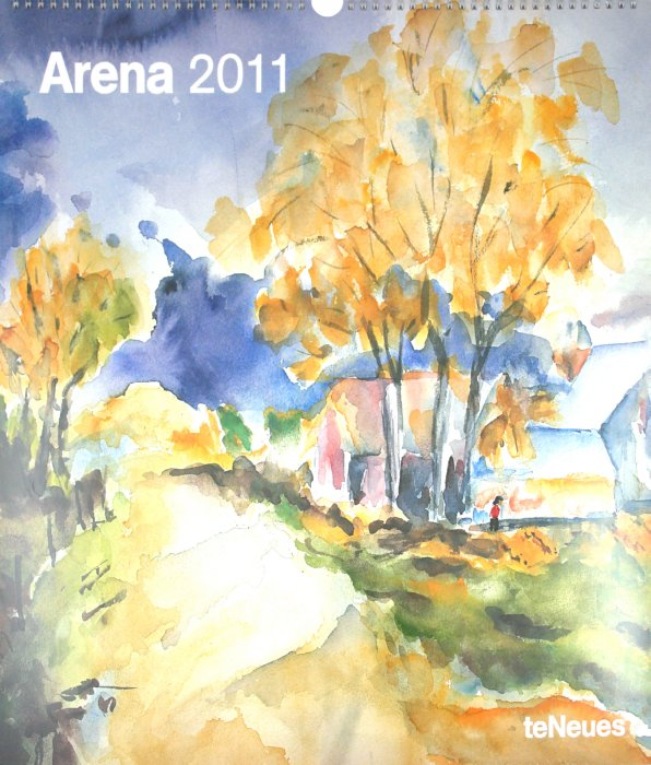 "Иллюстрация 1 из 2 для Календарь 2011 ""Арена"" (44632-) | Лабиринт - сувениры. Источник: Лабиринт"