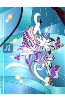Ежедневник 80 листов А5, Цветочная фантазия 4 (18278)