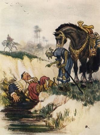 Иллюстрация 1 из 54 для Руслан и Людмила - Александр Пушкин   Лабиринт - книги. Источник: Лабиринт