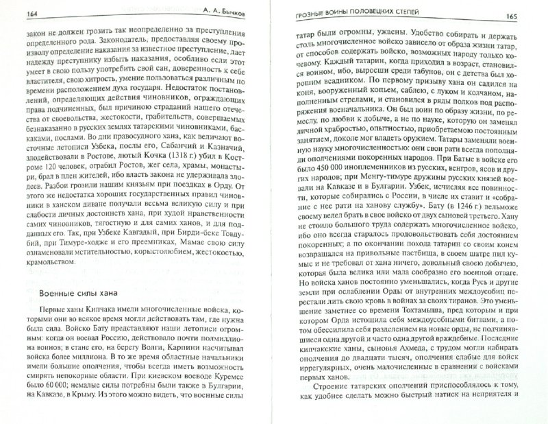 Иллюстрация 1 из 14 для Грозные воины половецких степей - Алексей Бычков | Лабиринт - книги. Источник: Лабиринт