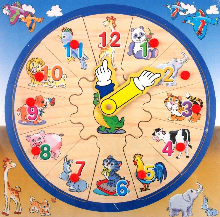 Иллюстрация 1 из 3 для Игра Пазлы-Часы (Ф21-1470) | Лабиринт - игрушки. Источник: Лабиринт