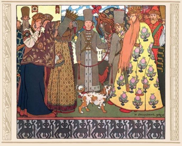 Иллюстрация 1 из 24 для Сказки и былины. Набор открыток - Александр Пушкин | Лабиринт - сувениры. Источник: Лабиринт