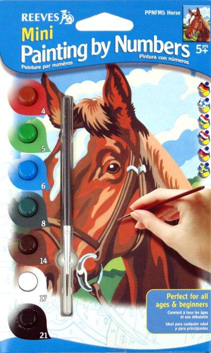 """Иллюстрация 1 из 2 для Набор для раскрашивания красками """"Лошадь"""" (мини) (PPNFM5)   Лабиринт - игрушки. Источник: Лабиринт"""