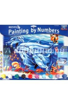 """Набор для раскрашивания красками """"Дельфины"""" (PL/36)"""