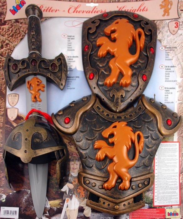 Иллюстрация 1 из 8 для Набор Рыцарь: меч, щит, шлем, доспехи (7225) | Лабиринт - игрушки. Источник: Лабиринт