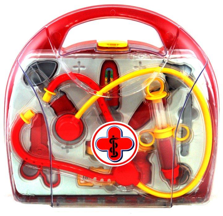 Иллюстрация 1 из 7 для Набор доктора, 11 предметов (4456Н) | Лабиринт - игрушки. Источник: Лабиринт