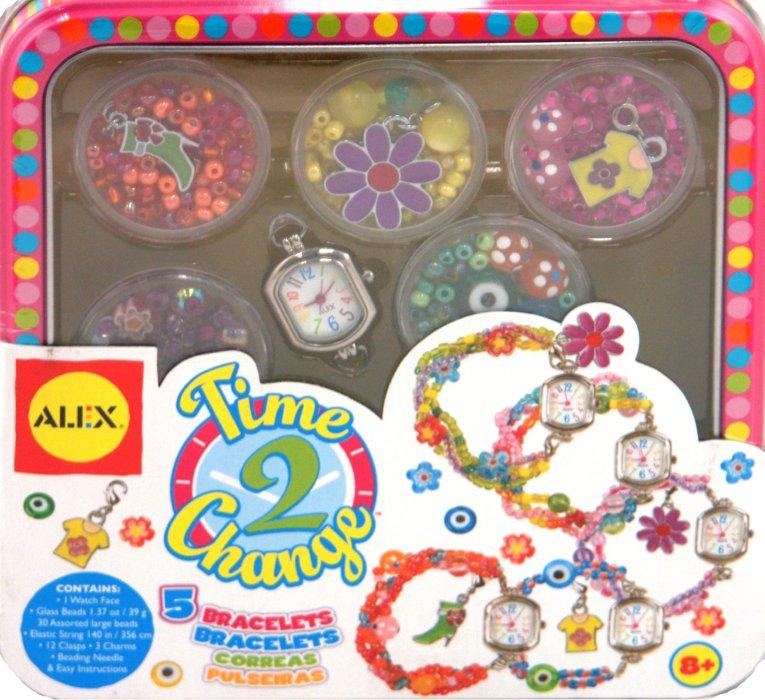 Иллюстрация 1 из 8 для Часы с браслетами из бусин, от 8 лет (758W) | Лабиринт - игрушки. Источник: Лабиринт