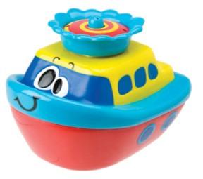 Иллюстрация 1 из 2 для Фонтанный катер (821W)   Лабиринт - игрушки. Источник: Лабиринт