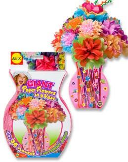 Иллюстрация 1 из 9 для Набор для изготовления бумажных цветов в вазе (294W) | Лабиринт - игрушки. Источник: Лабиринт
