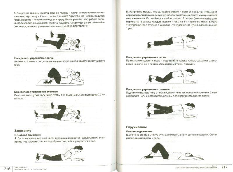 Иллюстрация 1 из 8 для Плоский живот. Идеальная диета и система упражнений - Юлия Лужковская | Лабиринт - книги. Источник: Лабиринт
