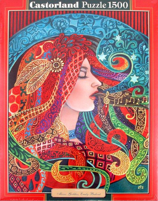 Иллюстрация 1 из 6 для Богиня, 1500 деталей (C-150854) | Лабиринт - игрушки. Источник: Лабиринт