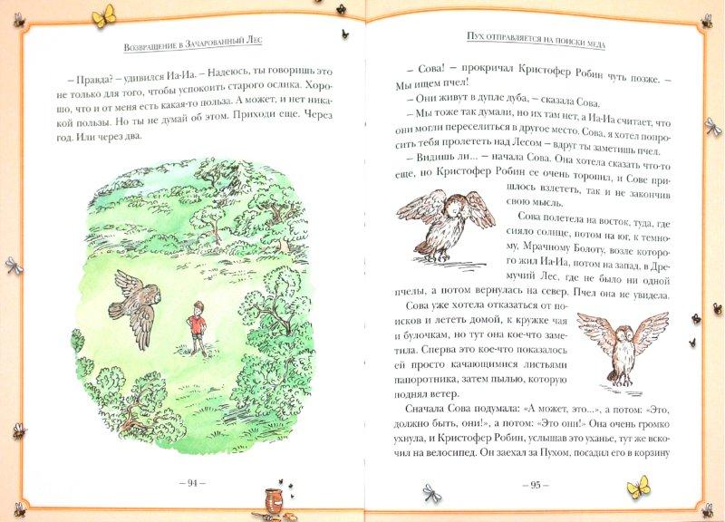 Иллюстрация 1 из 39 для Новые истории про Винни-Пуха. Возвращение в Зачарованный Лес - Дэвид Бенедиктус   Лабиринт - книги. Источник: Лабиринт