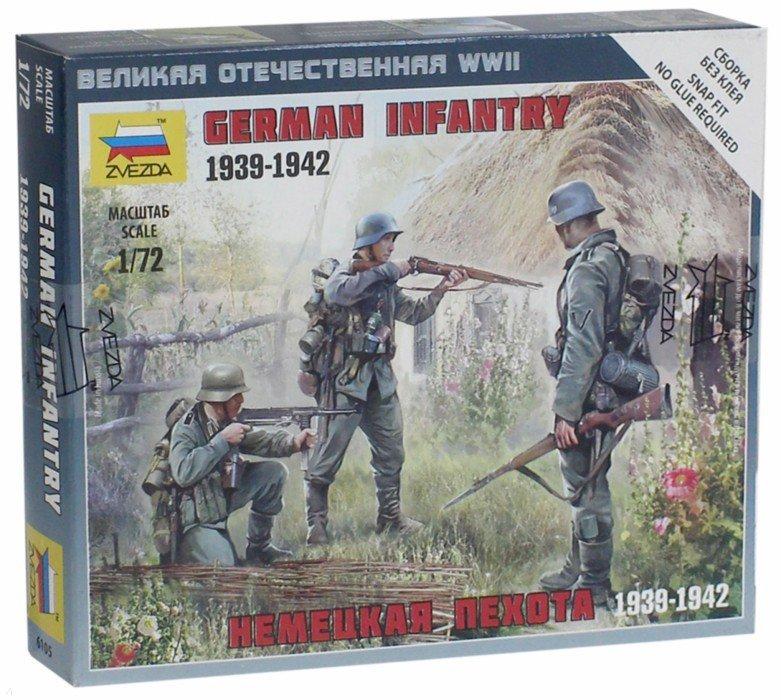 Иллюстрация 1 из 14 для Немецкая пехота 1939-1942 гг. (6105) | Лабиринт - игрушки. Источник: Лабиринт