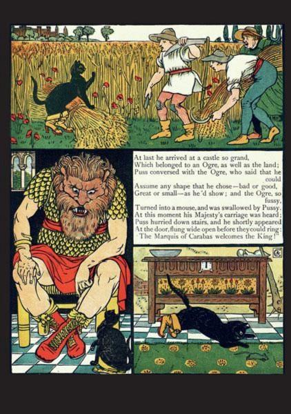 Иллюстрация 1 из 17 для Сказки с иллюстрациями Уолтера Крейна в открытках | Лабиринт - книги. Источник: Лабиринт