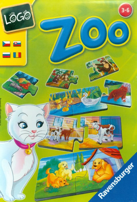 """Иллюстрация 1 из 6 для Игра """"Logo Zoo"""" (243655)   Лабиринт - игрушки. Источник: Лабиринт"""