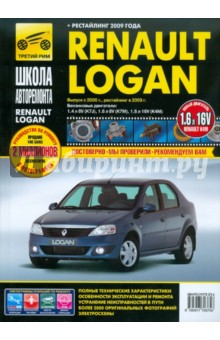 Renault Logan: Руководство по эксплуатации, техническому обслуживанию и ремонту книги аделант комплект по ремонту дома и дачи комплект 4 книги