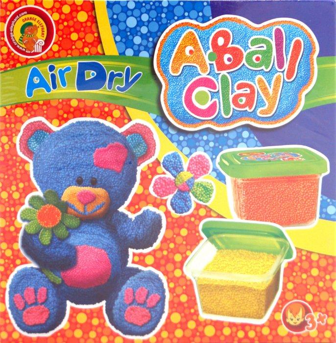 """Иллюстрация 1 из 4 для Пластилин шариковый застывающий """"Мишутка"""" 4 цвета (24224)   Лабиринт - игрушки. Источник: Лабиринт"""