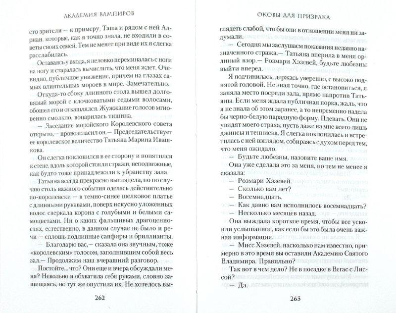 Иллюстрация 1 из 18 для Академия вампиров. Книга 5. Оковы для призрака - Райчел Мид   Лабиринт - книги. Источник: Лабиринт