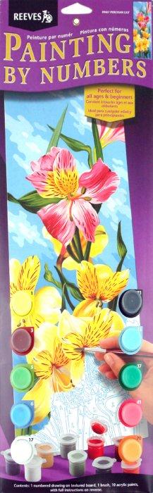 """Иллюстрация 1 из 2 для Набор для раскрашивания панорама """"Лилии"""" (PPAI7)   Лабиринт - игрушки. Источник: Лабиринт"""