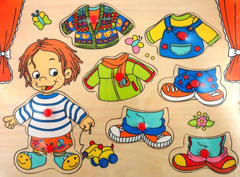 Иллюстрация 1 из 8 для Пазлы (Ф21-299) | Лабиринт - игрушки. Источник: Лабиринт