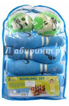 Игра Боулинг (в сумке, 10 кеглей, 2 мяча) (JBP-06-2 (B))
