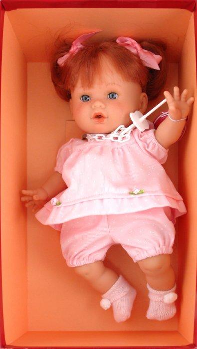 Иллюстрация 1 из 9 для Кукла Маргарита рыжая в розовом (5547P) | Лабиринт - игрушки. Источник: Лабиринт