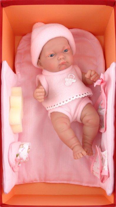 Иллюстрация 1 из 2 для Кукла-младенец Дани в розовом (4459P) | Лабиринт - игрушки. Источник: Лабиринт