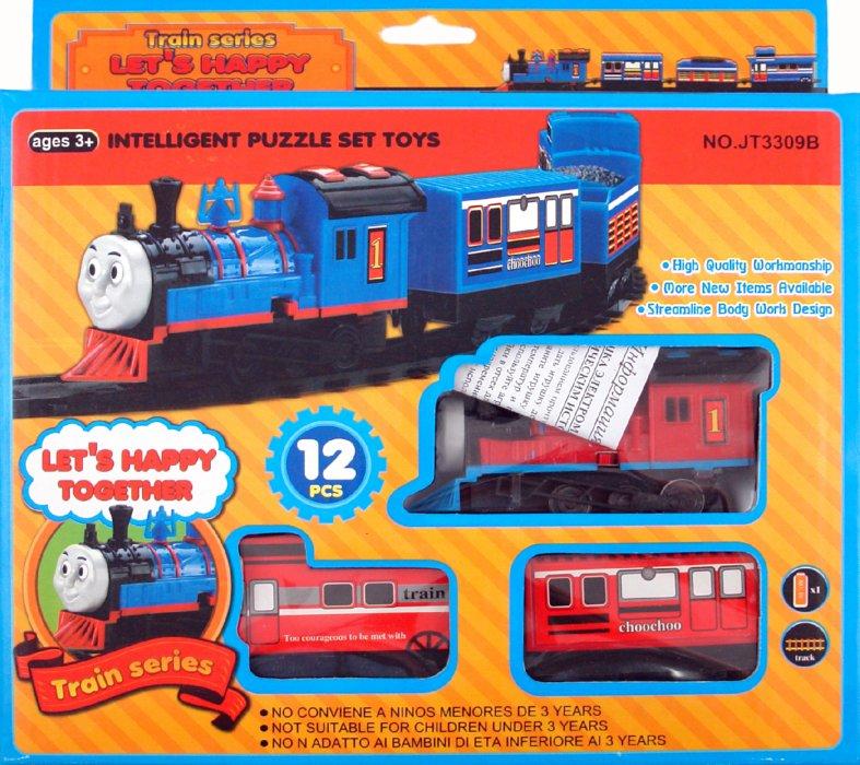 Иллюстрация 1 из 2 для Железная дорога (639594)   Лабиринт - игрушки. Источник: Лабиринт