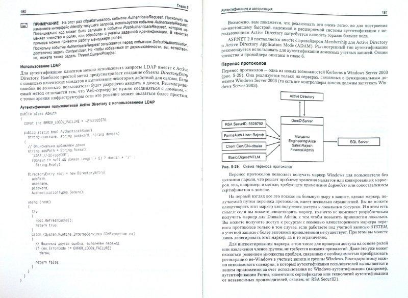 Иллюстрация 1 из 11 для Microsoft ASP.NET. Обеспечение безопасности. Мастер-класс - Доминик Байер | Лабиринт - книги. Источник: Лабиринт