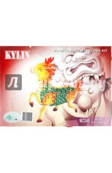 Купить Килин (MC040), ВГА, Сборные 3D модели из дерева цветные макси