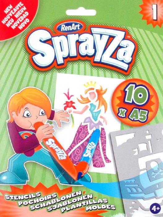 """Иллюстрация 1 из 3 для Набор шаблонов """"Sprayza 1"""" (ST2201)   Лабиринт - игрушки. Источник: Лабиринт"""