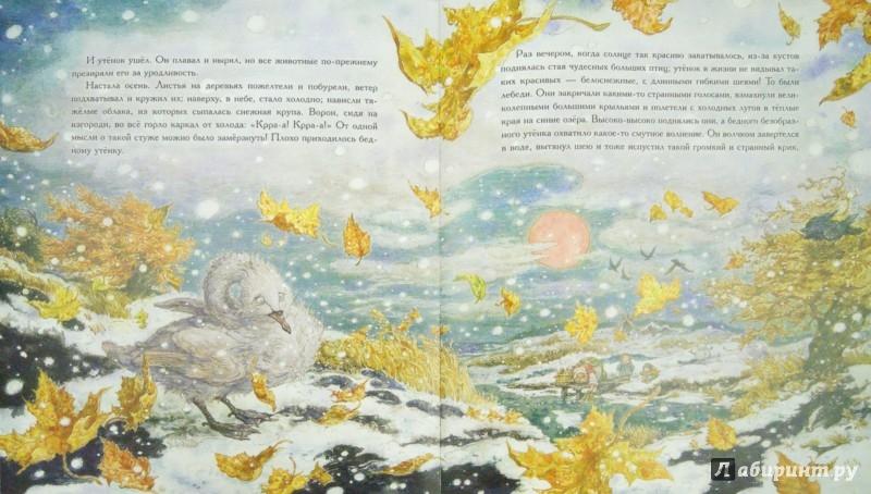 Иллюстрация 1 из 74 для Гадкий утенок - Ханс Андерсен | Лабиринт - книги. Источник: Лабиринт
